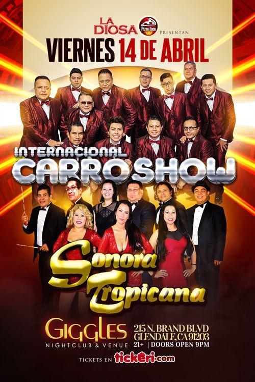 Internacional Carro Show Y Sonora Tropicana Kesta Happening La
