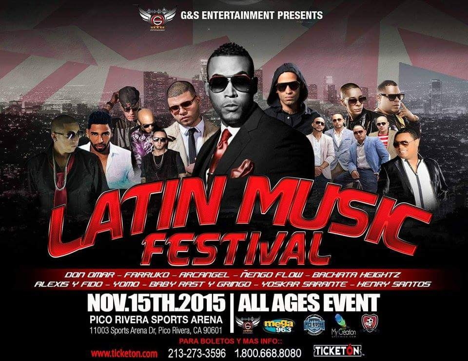 DON OMAR & FRIENDS LATIN MUSIC FESTIVAL 2015